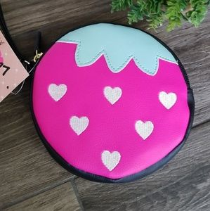 Strawberry Luv Betsey Coin Purse